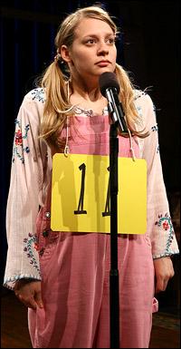 Jenni Barber in <i>Spelling Bee</i>.