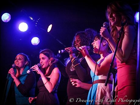 "Anne Brummel, Lesley McKinnell, Brandi Chavonne Massey, Natalie Daradich and Lesley McKinnell sing  ""2 Become 1"""