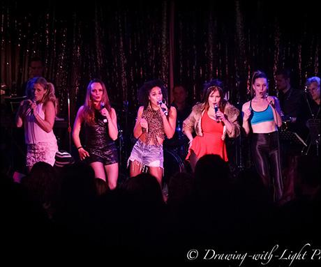 "Tess Soltau, Sabrina Harper, Gabrielle McClinton, Ryah Nixon and Bethany Moore sing ""Spice Up Your Life"""