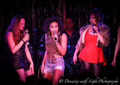 "Sabrina Harper, Gabrielle McClinton and Ryah Nixon sing ""Saturday Night Divas"""