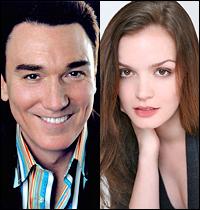 Patrick Page and Jennifer Damiano