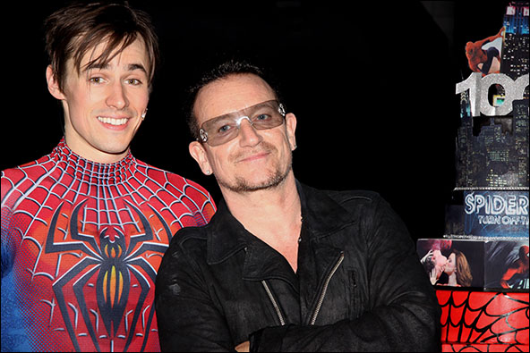 Reeve Carney and Bono