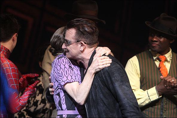 Isabel Keating and Bono