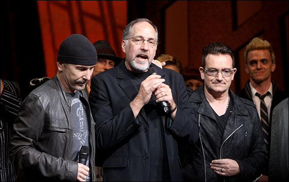 The Edge, Philip William McKinley and Bono