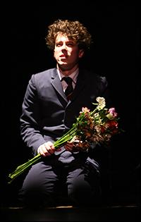 John Gallagher, Jr. in <i>Spring Awakening</i>.