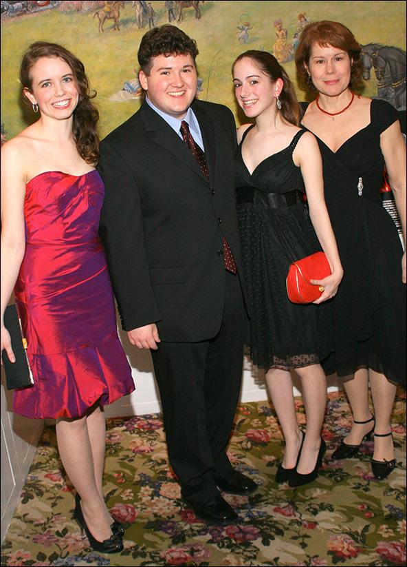 Phoebe Strole, Brian Charles Johnson, Remy Zaken and Christine Estabrook