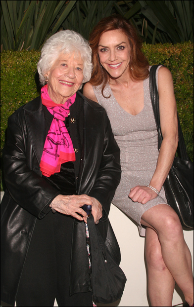 Charlotte Rae and Andrea McArdle