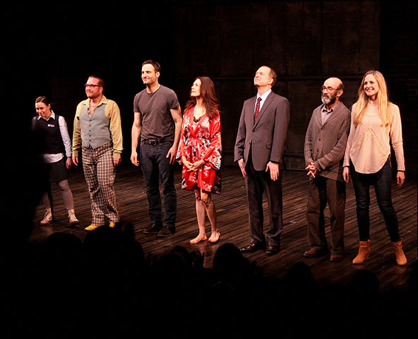 Emma Galvin, Michael Cyril Creighton, Dominic Fumusa, Jessica Hecht, Daniel Jenkins, Patrick Kerr and Clea Alsip
