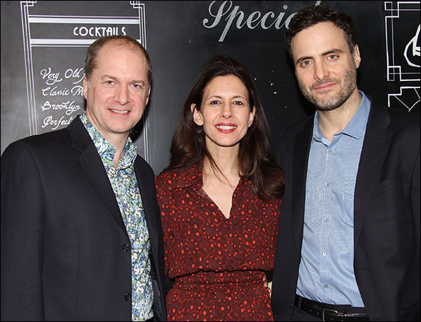 Daniel Jenkins, Jessica Hecht and Dominic Fumusa