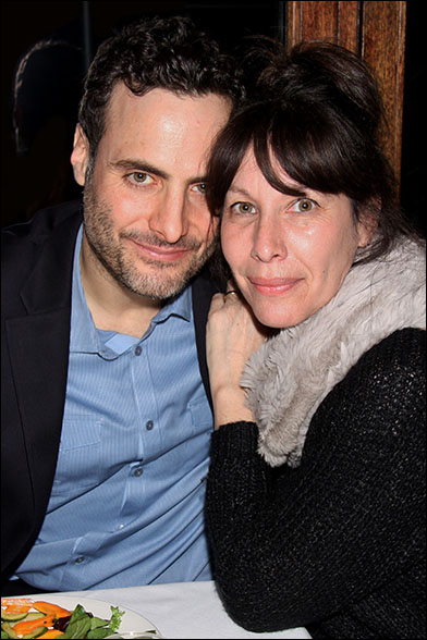 Dominic Fumusa and Ilana Levine