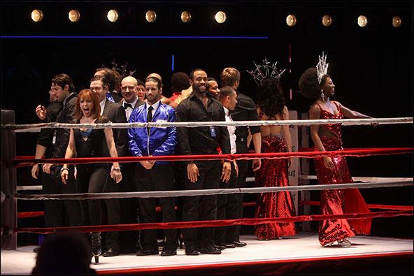 Eric Anderson, Luis Salgado, James Brown III and Cast