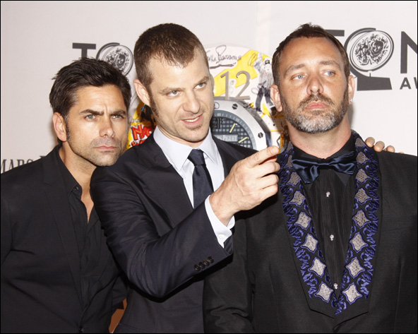 John Stamos, Matt Stone and Trey Parker