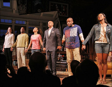 Stick Fly opened Dec. 8 at the Cort Theatre