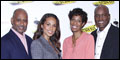Producer Alicia Keys and Cast of Stick Fly Meet the Press
