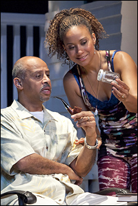 Ruben Santiago Hudson and Tracie Thoms