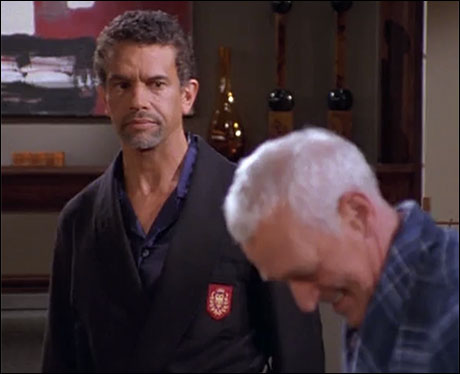 "Brian Stokes Mitchell and John Mahoney on ""Frasier"""