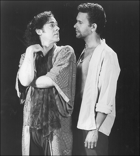Jeff Hyslop and Brian Stokes Mitchell in Kiss of the Spider Woman