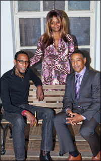 Ron Cephas Jones, Tonya Pinkins and Giancarlo Esposito