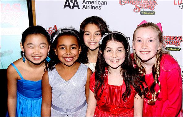 Sarah Min-Kyung Park, Grace Capeless, Analise Scarpaci, Beatrice Tulchin and Zoe Considine