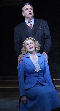 Nicole Miller and Larry Adams