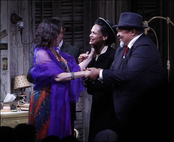 Emily Mann, Rosa Evangelina and Count Stovall