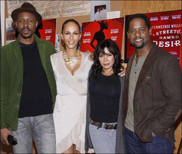 Wood Harris, Nicole Ari Parker, Daphne Rubin-Vega and Blair Underwood