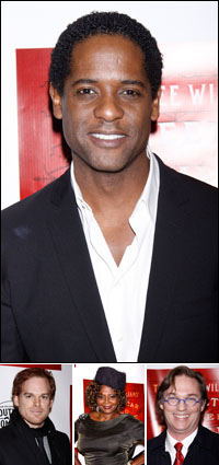 Blair Underwood; guests Michael C. Hall, Tonya Pinkins and Richard Thomas