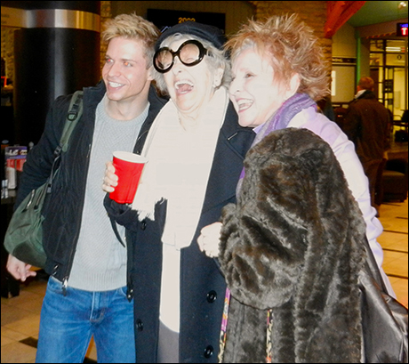 Hunter Ryan Herdlicka, Elaine Stritch and Pamela Myers