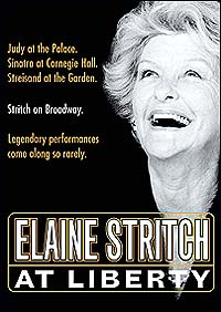 The DVD cover for <i>Elaine Stritch at Liberty</i>