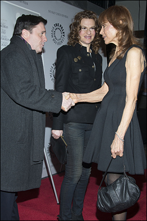Nathan Lane, Sandra Bernhard and Tina Louise