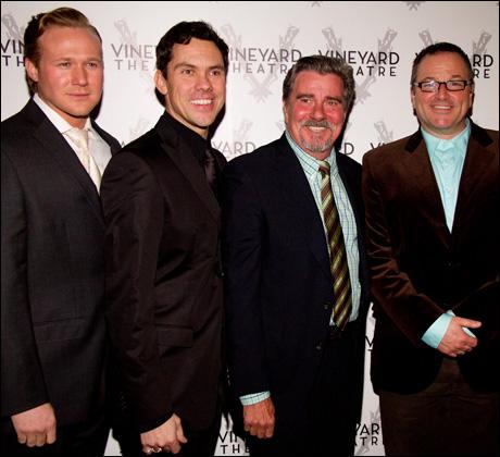 Jason Patrick Sands, James Gray, Gary Beach and Jim Borstelmann