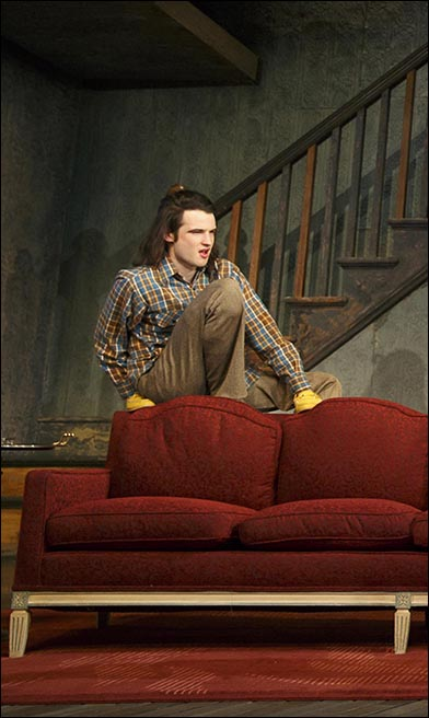 Tom Sturridge, nominated for Best Performance by a Leading Actor in a Play for his performance in Orphans.