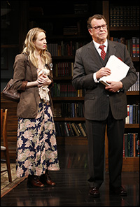 Halley Feiffer and John Noble