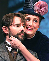Daniel Evans and Jenna Russell in the London production of <i>Sunday in the Park with George</i>