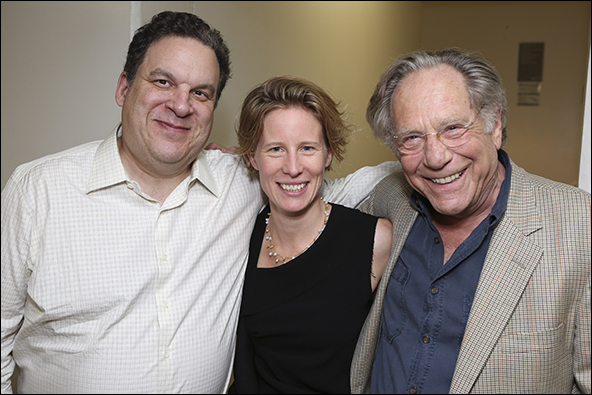 Jeff Garlin, Director Thea Sharrock and George Segal