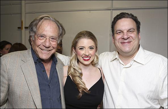 George Segal, Annie Abrams and Jeff Garlin