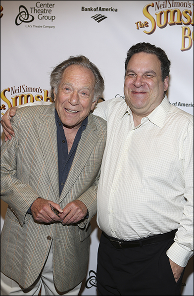 George Segal and Jeff Garlin
