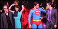 Edward Watts, Jenny Powers, Will Swenson, Alli Mauzey and Cast Celebrate Encores! Superman Final Per