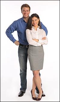 Edward Watts and Jenny Powers