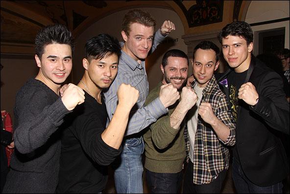Suo Lui, Jason Ng, Edward Watts, Joshua Bergasse, Scott Weber and Craig Henningsen