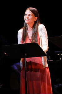 Sutton Foster in <i>Violet</i>.