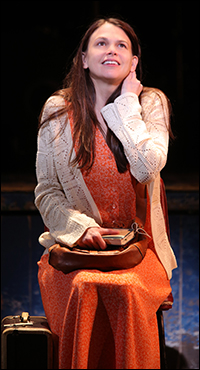 Sutton Foster in <i>Violet</i>