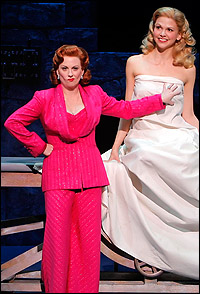 Megan Mullally and Sutton Foster in <I>Young Frankenstein</I>