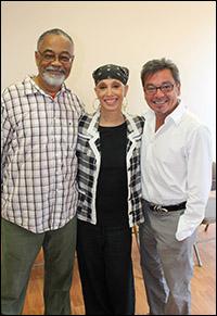 William Foster McDaniel, Mercedes Ellington and Bill Castellino