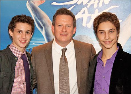 Trent Kowalik, Matthew Bourne and Kiril Kulish
