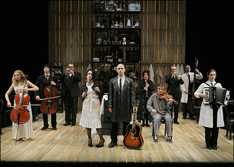 Michael Cerveris and cast in Sweeney Todd