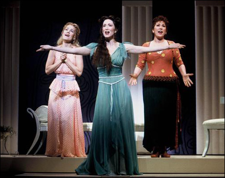 Erin Dilly, Lauren Mitchell and Toni DiBuono in The Boys from Syracuse, 2002