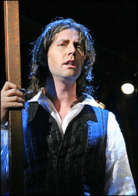 James Barbour as Sydney Carton in <I>A Tale of Two Cities.</I>