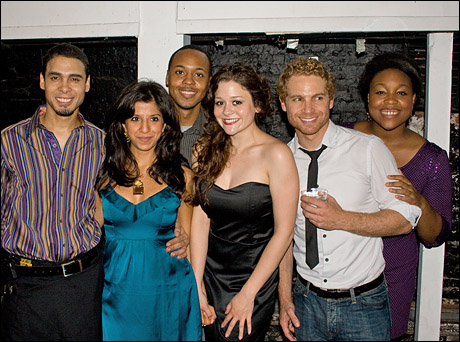Wilson Jermaine Heredia, Farrah Bala, Brandon Jones, Carla Corvo, Vayu O'Donnell and Geri Brown