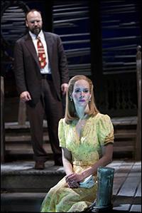 Danny Burstein and Sarah Paulson